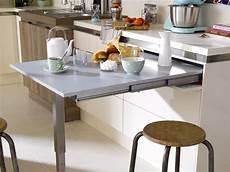 table cuisine escamotable ou rabattable table r 233 tractable id 233 es cuisine cuisine
