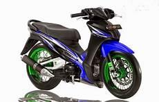 Model Modifikasi Motor by Model Gambar Modifikasi Motor Absolute Revo Terbaru