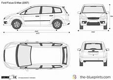Ford Focus S Max Vector Drawing