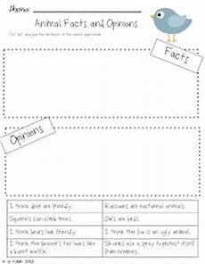 animal fact and opinion worksheets 13997 this is a worksheet for to practice the skill fact and opinion using the children s