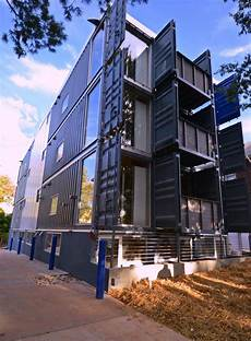Apartment Zero Dc by Dc S Shipping Container Apts Completed