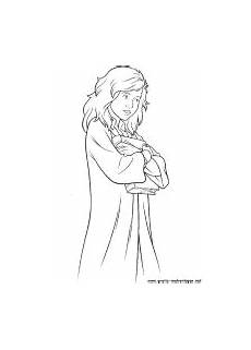 ausmalbilder harry potter hermine coloring pages for