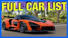 Forza Horizon 4 Car List All Barn Finds Leaked