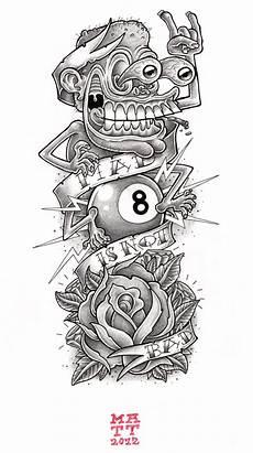 dessin de tatouage les pustules de matt dessin pour un