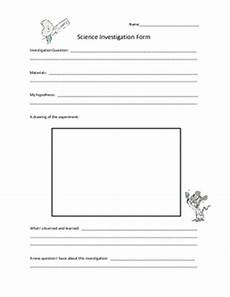 printable science experiments worksheets 12678 science experiment investigation form elementary worksheet by trail 4 success