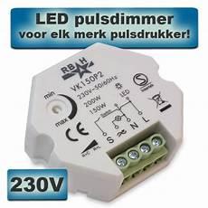 led puls dimmer vk150p2 150w 230v verlichtingkopen nl