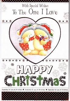 with special wishes to the one i love this christmas embossed personalised braille card