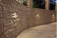 stucco with stone accent retaining wall wall lighting mokena wall lights oak brook stone wall