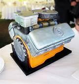 Car Engine Grooms Cake Aka The BEAST  Celebration