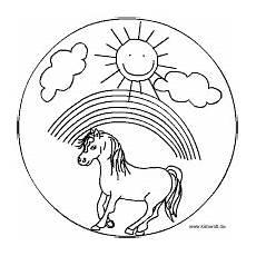 pferde mandalas im kidsweb de