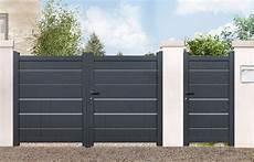 portail aluminium battant 3m50 portail aluminium battant plein quot amarante quot gris anthracite