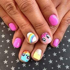 my little pony nail art kids nail designs nails for