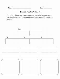 character traits character analysis worksheet character trait reading worksheets worksheets