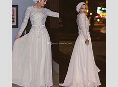 Sparkly Long Sleeves Muslim Evening Dresses Sequins