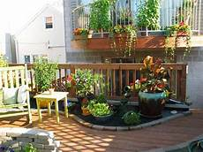Apartment Patio Container Garden by Rooftop Patio And Container Garden Contemporary Patio
