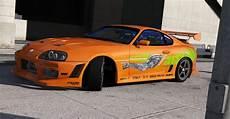 Brian O Toyota Supra Fast Furious Gta5 Mods