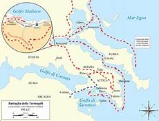 riassunto guerre persiane file battle of thermopylae and movements to salamis and