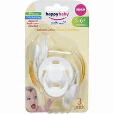 happy baby soother medium 3pk woolworths