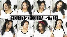 15 back to school heatless hairstyles for curly hair youtube
