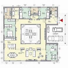 haus mit innenhof grundriss grundrisse ansehen design planos de casas casa