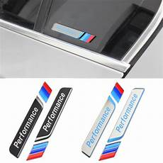 acrylic m performance window decal sticker m power side