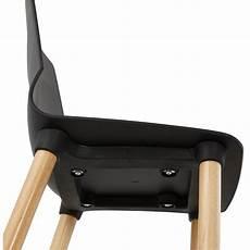 photo sur aluminium 27838 chaise design scandinave suede noir