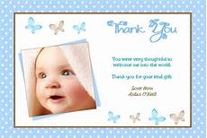 thank you card template for baptism personalised boy christening thank you cards design 6