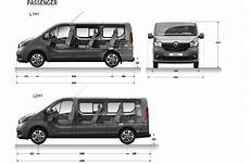 renault trafic 9 places dimensions renault trafic