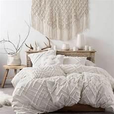 Doona Cover by Brand New Linen House Sanura White Duvet Doona Quilt Cover