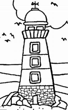 Window Color Malvorlagen Leuchtturm Leuchtturm Mit Wetterhahn Ausmalbild Malvorlage Gemischt