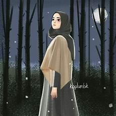 Gambar Kartun Muslimah Berhijab Terbaru Gambar