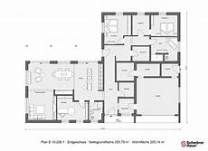bungalow in l form in 2020 grundriss bungalow haus