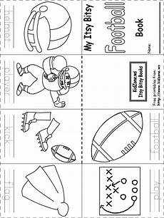 sports worksheets kindergarten 15816 itsy bitsy book football