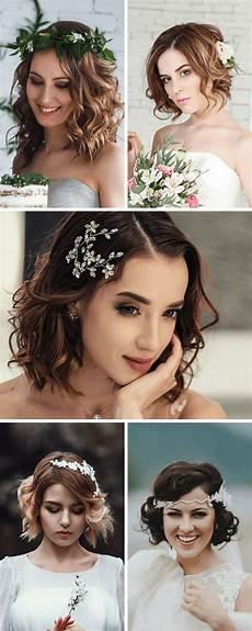 Brautfrisur Kurze Haare Brautfrisur Mittellange Haare