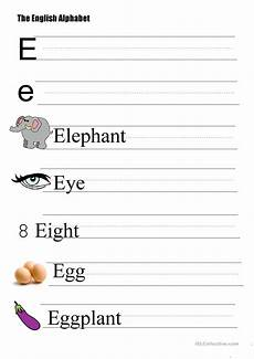 alphabet worksheets letter e 24096 the alphabet letter e worksheet free esl printable worksheets made by teachers