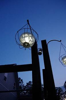hanging solar lights using glass chandelier bowls and dollar store items
