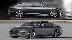 2017 Audi A8 Avant Vs Coupe