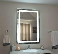mam83248 32 quot w x 48 quot t lighted vanity mirror wall mounted led makeup mirror