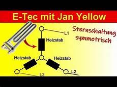 drehstrom symmetrische sternschaltung berechnen