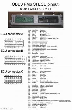 88 crx wiring diagram 1990 civic si project obd1