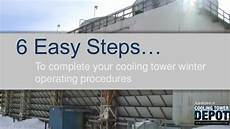 cooling tower winter operating procedures