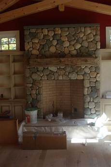 stone veneer fireplace mantle and stone veneer pinterest