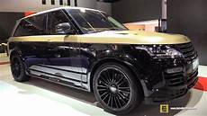 range rover mansory 2015 range rover autobiography customized by mansory