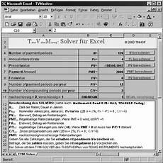 finanzmathematik mit elektronischen hilfsmitteln