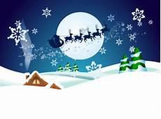 winternacht vorlage karte kostenlose vektor