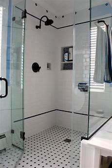 Bathroom Wall Tile Decorating Ideas by 27 Ideas For Using Subway Tile In A Shower 2019
