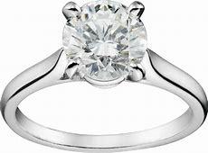 CRN4163600   Solitaire 1895   Platine, diamant   Cartier