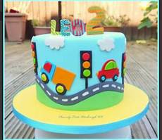 cars cake with images 1st birthday cakes birthday