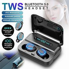Bluetooth Earphone Wireless Earbuds Display 3500mah by Wireless Bluetooth 5 0 Earbuds Cvc8 0 Noise Reduction Tws