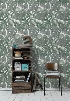Michalsky Tapete Vlies Natur Floral Dunkelgr 252 N 36519 1